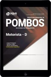 Download Apostila Prefeitura de Pombos - PE Pdf - Motorista D