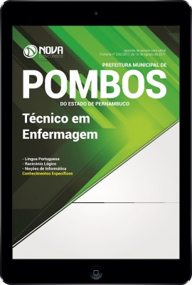 Download Apostila Prefeitura de Pombos - PE Pdf - Técnico em Enfermagem