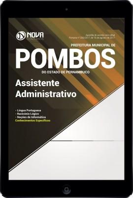 Download Apostila Prefeitura de Pombos - PE Pdf - Assistente Administrativo