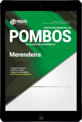 Download Apostila Prefeitura de Pombos - PE Pdf - Merendeira