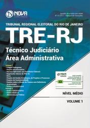 Apostila TRE RJ 2017 - Técnico Judiciário - Área Administrativa
