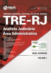 Apostila TRE RJ 2017 - Analista Judiciário - Área Administrativa