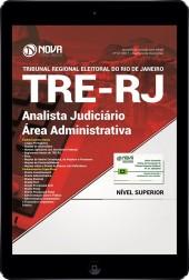 Download Apostila TRE RJ 2017 Pdf - Analista Judiciário - Área Administrativa