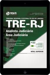 Download Apostila TRE-RJ 2017 Pdf  - Analista Judiciário - Área Judiciária