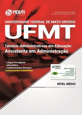 Apostila UFMT - Assistente em Administração