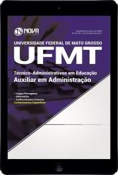 Download Apostila UFMT Pdf - Auxiliar em Administração