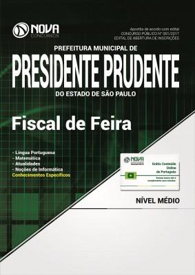 Apostila Prefeitura de Presidente Prudente - SP - Fiscal de Feira