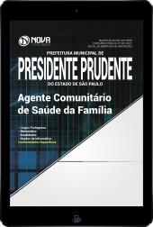 Download Apostila Prefeitura de Presidente Prudente - SP Pdf - Agente Comunitário de Saúde da Família