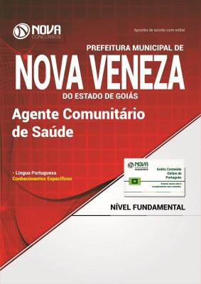 Apostila Prefeitura de Nova Veneza - GO - Agente Comunitário de Saúde