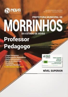 Apostila Prefeitura de Morrinhos - GO - Professor: Pedagogo