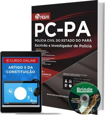 Apostila PC - PA - Escrivão e Investigador de Polícia