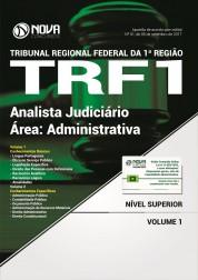 Apostila TRF 1ª Região - Analista Judiciário - Área: Administrativa