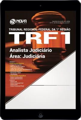 Download Apostila TRF 1ª Região 2017 - Analista Judiciário - Área: Judiciária