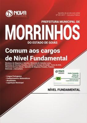 Apostila Prefeitura de Morrinhos - GO - Comum aos cargos de Nível Fundamental