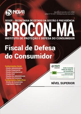 Apostila PROCON-MA - Fiscal de Defesa do Consumidor