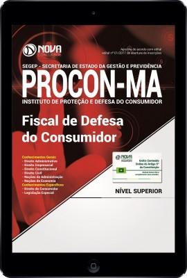 Download PROCON-MA  PDF- Fiscal de Defesa do Consumidor