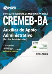 Apostila CREMEB - BAHIA - Auxiliar de Apoio Administrativo I (Auxiliar Administrativo)