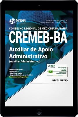Download Apostila CREMEB - BAHIA PDF - Auxiliar de Apoio Administrativo I (Auxiliar Administrativo)