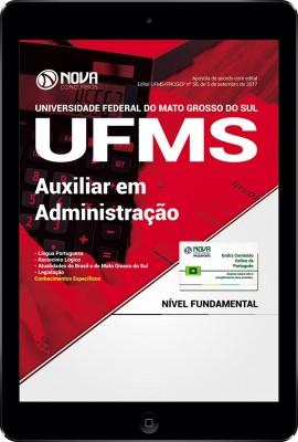 Download Apostila UFMS PDF - Auxiliar em Administração