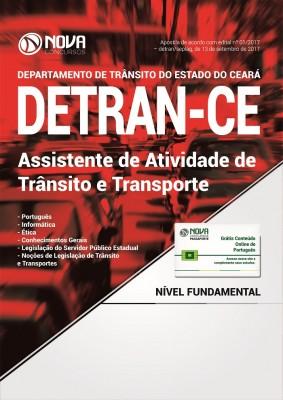 Apostila DETRAN CE - Assistente de Atividade de Trânsito e Transporte