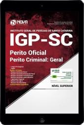 Download Apostila IGP SC PDF - Perito Oficial - Perito Criminal: Geral