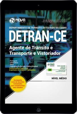 Download Apostila DETRAN CE PDF 2017 - Agente de Trânsito e Transporte e Vistoriador