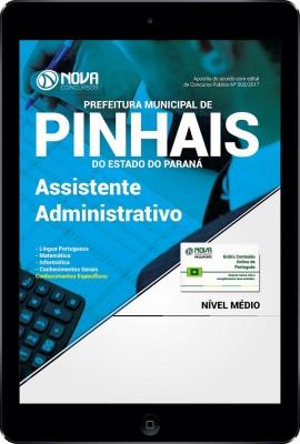 Download Apostila Prefeitura de Pinhais - PR 2017 - Assistente Administrativo