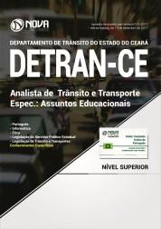 Apostila DETRAN-CE  - Analista de Trânsito e Transporte – Espec. Assuntos Educacionais