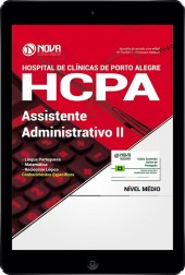 Download Apostila HCPA RS 2017 PDF - Assistente Administrativo II