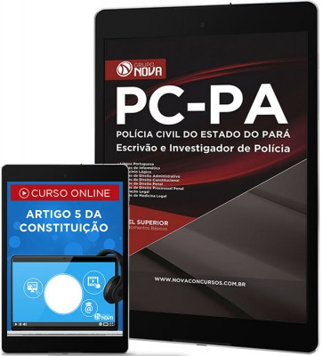 Download Apostila PC - PA - Escrivão e Investigador de Polícia