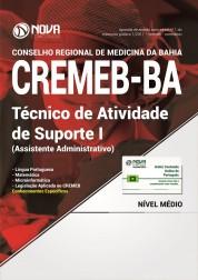 Apostila CREMEB - BAHIA - Técnico de Atividade de Suporte I (Assistente Adm)