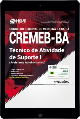 Download Apostila CREMEB - BAHIA PDF - Técnico de Atividade de Suporte I (Assistente Adm)