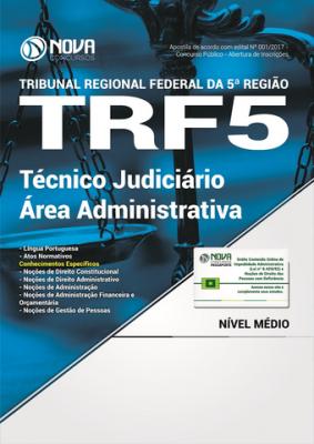 Apostila TRF 5 - Técnico Judiciário - Área Administrativa