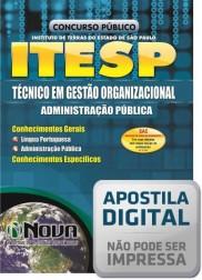 Técnico em Gestão Organizacional - Administração Pública