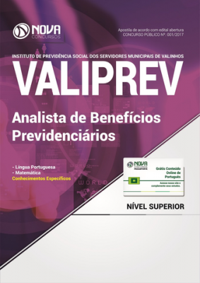 Apostila VALIPREV - Analista de Benefícios Previdenciários