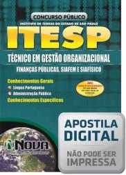 Técnico em Gestão Organizacional - Finanças Públicas