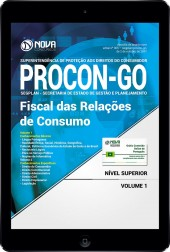 Download Apostila PROCON-GO PDF - Fiscal de Relações de Consumo