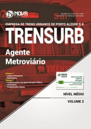 Apostila TRENSURB - Agente Metroviário