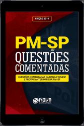 Ebook de Questões Comentadas - PM-SP (PDF)