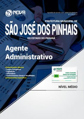 Apostila Prefeitura de São José dos Pinhais - Agente Administrativo