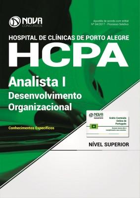 Apostila HCPA - Analista I – Desenvolvimento Organizacional