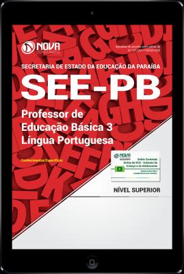Download Apostila SEE-PB PDF - Professor de Educação Básica 3 - Língua Portuguesa