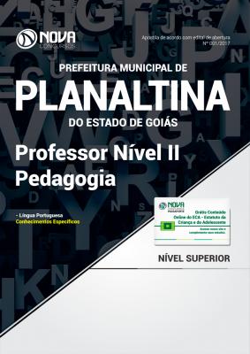 Apostila Prefeitura de Planaltina-GO - Professor Nível II – Pedagogia