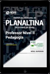 Download Apostila Prefeitura de Planaltina-GO PDF - Professor Nível II – Pedagogia
