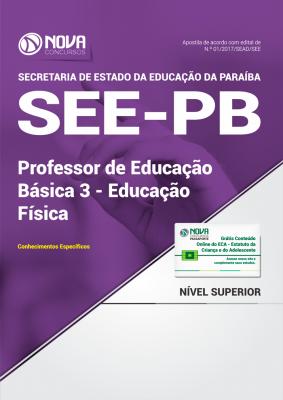 Apostila SEE-PB - Professor de Educação Básica 3 - Educação Física
