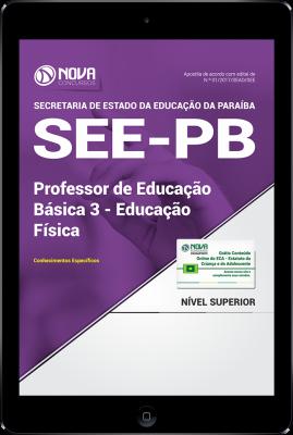 Download Apostila SEE-PB PDF - Professor de Educação Básica 3 - Educação Física