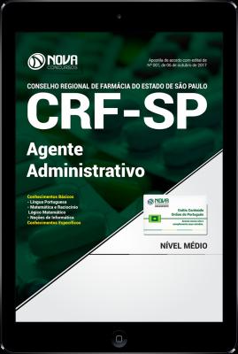 Download Apostila CRF-SP PDF - Agente Administrativo