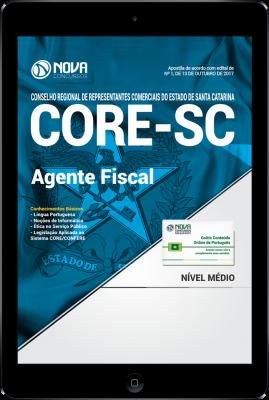 Download Apostila CORE-SC PDF - Agente Fiscal