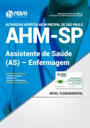 Apostila AHM-SP - Assistente De Saúde (As) – Enfermagem