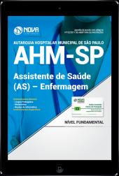 Download Apostila AHM-SP PDF - Assistente De Saúde (As) – Enfermagem